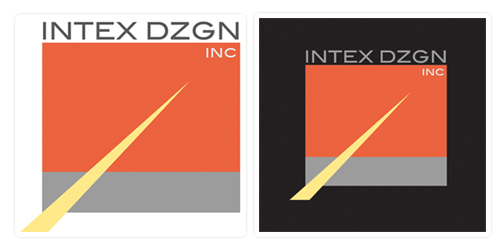 logo design process oakville 3 tablet
