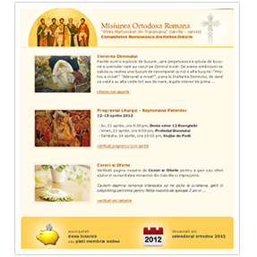 website design oakville church