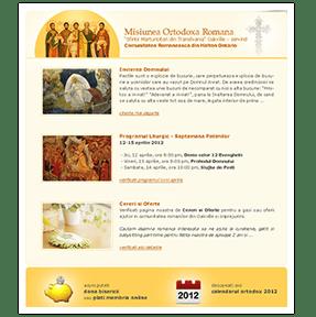 website design oakville church